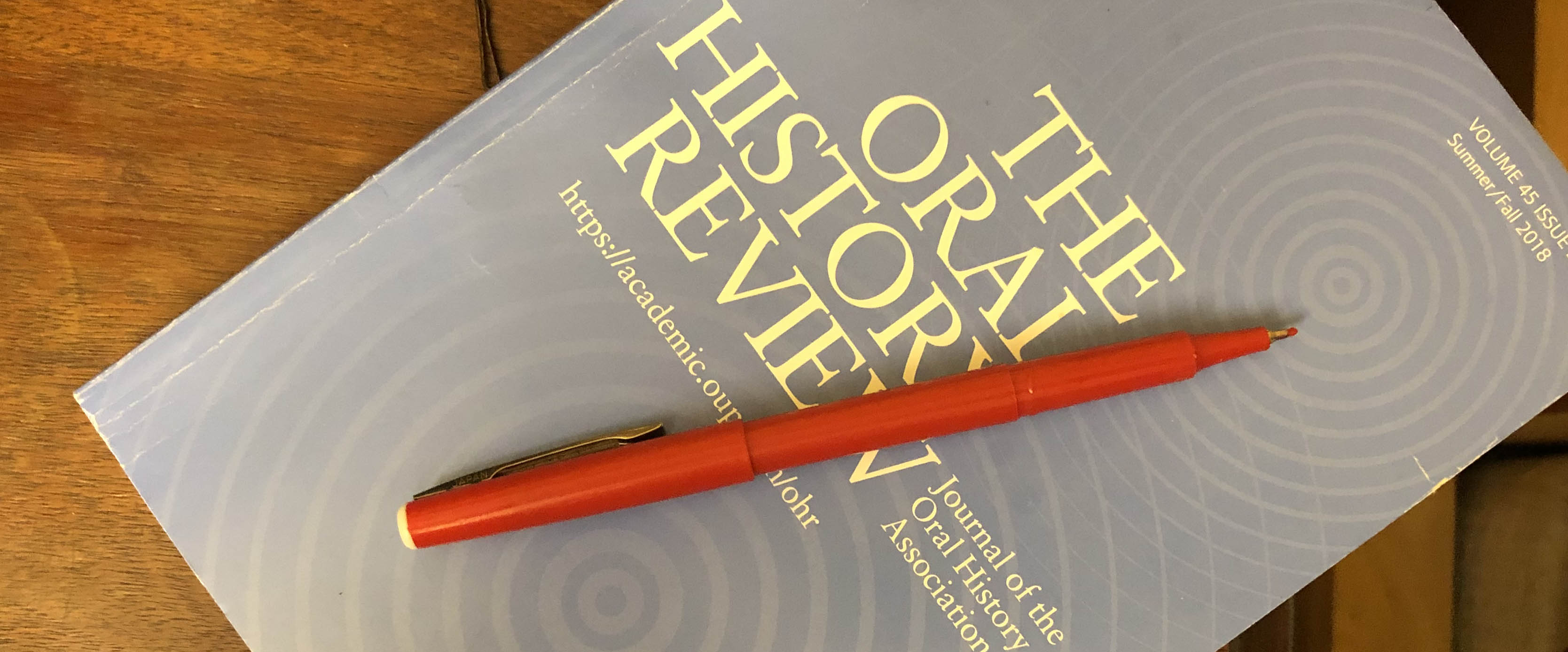 Oral History Review | The blog of the journal of record for